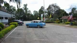 preview picture of video 'Classic 1960s Ford Anglia near Loei and surrounding areas in Isaan , Eastern Thailand'
