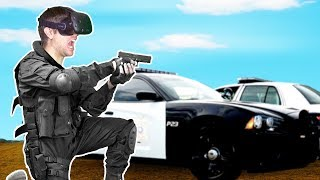POLICE BACKUP CALL GOES HORRIBLY WRONG! - Police Enforcement VR Gameplay HTC VIVE