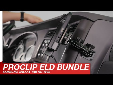 Play Video: ELD Kit with Charging Holder for Hard-Wired Install