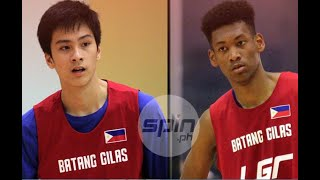 Batang Gilas twin towers like each other: 'Magaan kasama'