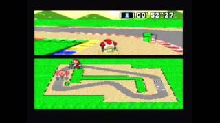 "Super Mario Kart Time Trial PAL Mario Circuit 1 1-lap:  0'11""23* by Sami Cetin"