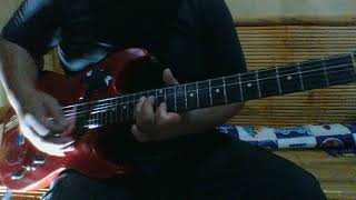 Blown Out Of The Sky - The Exploited (guitar cover)