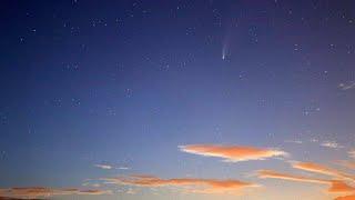 Komet Neowise nad Slovenijo