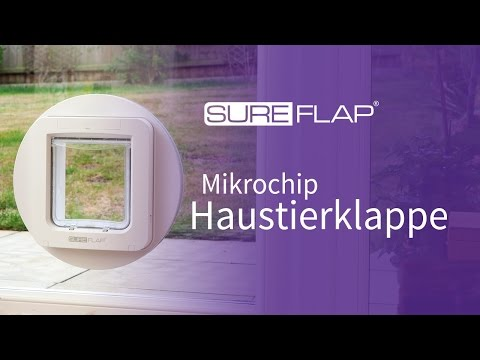 SureFlap Mikrochip Haustierklappe - So finden Sie Ihre Seriennummer