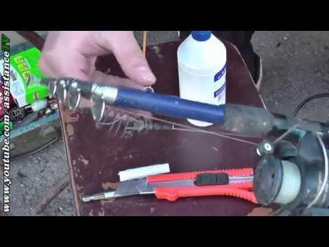 Ремонт колец на удочке / Ремонт крайнего наконечника