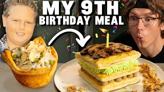 Reinventing Josh's Favorite Childhood Birthday Meal