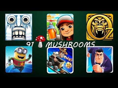 Temple Run 2 Frozen Festival Vs Despicable Me Vs Agent Dash Vs