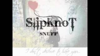 Slipknot - Snuff - Vocal Cover