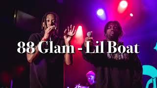 88Glam   Lil Boat ( Lyrics )