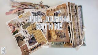 JUNK JOURNAL W/ ME   EP. 6   BREAKING IN A NEW JOURNAL
