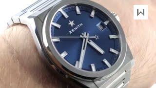 2018 Zenith Defy Classic 95.9000.670/51.M9000 Luxury Watch Review