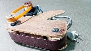 How To Make Mini Belt Sander Machine At Home