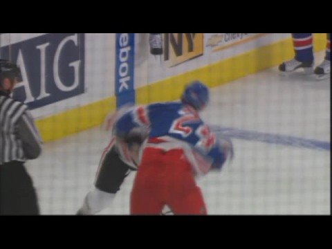 Ryan Callahan vs. Colin Fraser