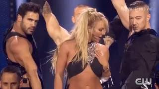 Britney Spears - Womanizer (Live at iHeartRadio Music Festival 2016) HD