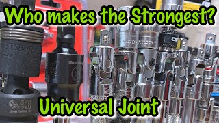 Which Universal Joint is the Best? Who has the Strongest one?