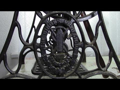 Ножной привод швейной машины. Ремонт. Видео № 236.