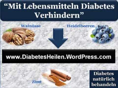 Unkonventionelle Behandlung Diabetes-Behandlung
