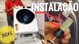 Como instalar Lava e Seca Lavadora passo a passo com dicas
