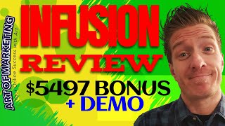 Infusion Review, Demo, $5497 Bonus, Infusion by Mark Barrett Review