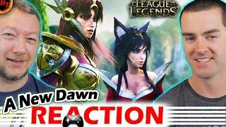 A New Dawn Cinematic REACTION- League of Legends