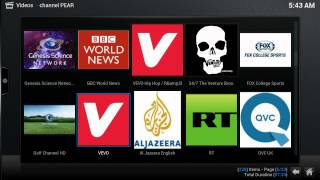 How to Add Live Tv Channel to Favorite on Kodi Freedom box