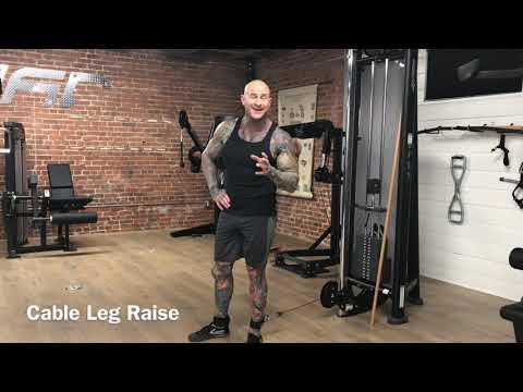 Cable Leg Raise