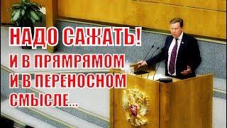 Жесткое выступление Депутата ГД Нилова на тему закона о защите лесов!