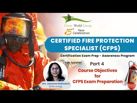 Part 4   Course Objectives For CFPS Exam Preparation   Green ...