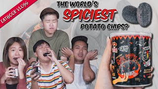 We Tried The Infamous Ghost Pepper Chips   Eatbook Vlogs   EP 72