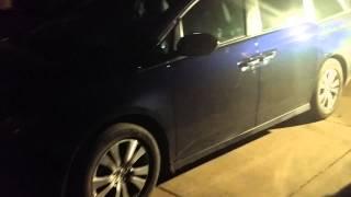 Honda Odyssey 2015  Keyless, keyfob locked in car