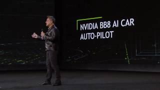 CES 2017: AI Co-Pilot (NVIDIA Keynote Part 6)