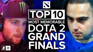 The Top 10 Most Memorable Dota 2 Grand Finals