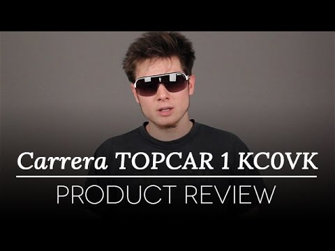 Carrera Sunglasses Review – Carrera Topcar 1 White | SmartBuyGlasses