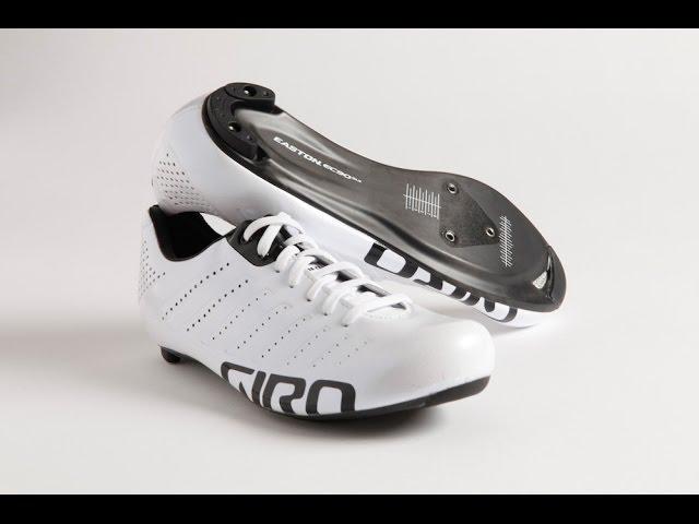 Видео Велотуфли Giro Empire SLX бело-черные