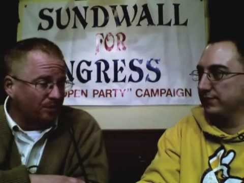 Eric Sundwall, Libertarian Party candidate, interviewed by the Albany Student Press (part 1)