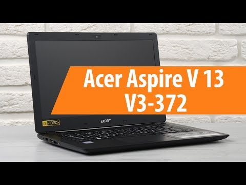 Распаковка Acer Aspire V 13 V3-372 / Unboxing Acer Aspire V 13 V3-372