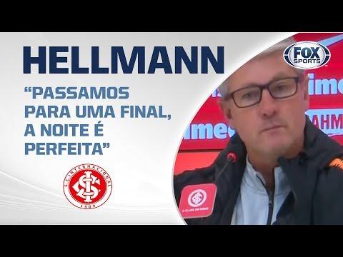 INTER NA FINAL! Veja entrevista de Odair Hellmann após classificação na Copa do Brasil