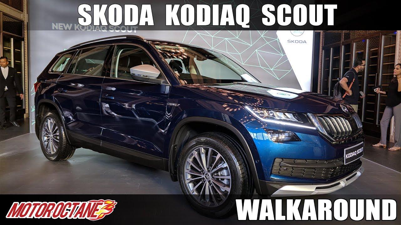 Motoroctane Youtube Video - Skoda Kodiaq Scout   Hindi Walkaround   MotorOctane