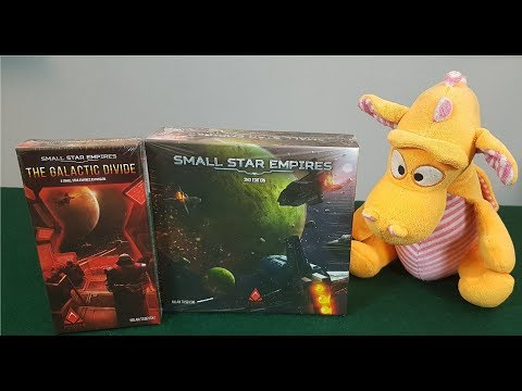 Small Star Empires (+Expansion) - Unboxing
