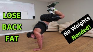 Intense 10 Minute At Home Fat Burning Back Workout by Anabolic Aliens
