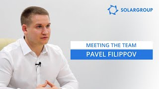Project public relations and investment specialist - Pavel Filippov
