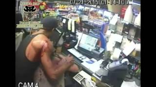Clerk Shoots Armed Robber With His Own Gun