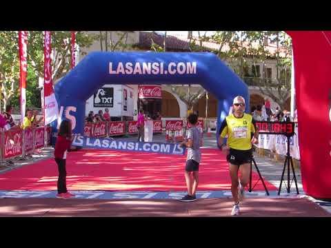 Arribada de la campiona 5km