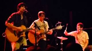 Teddy Geiger   For You I Will HD Live at Gramercy Theater in NYC  1 4 13
