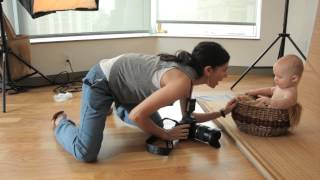 Tamron How-To Baby Photography: A Studio Shoot