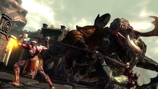 God of War - Kratos vs Hecatonchires Boss (GoW Ascension)