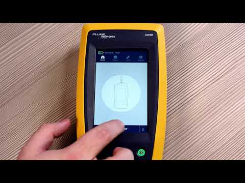 Using the LinkIQ Cable+Network Tester by Fluke Networks - YouTube
