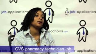 CVS Interview   Pharmacy Technician