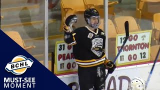 Must See Moment: Sam Huo leads the Express to victory in Chilliwack with a hat-trick