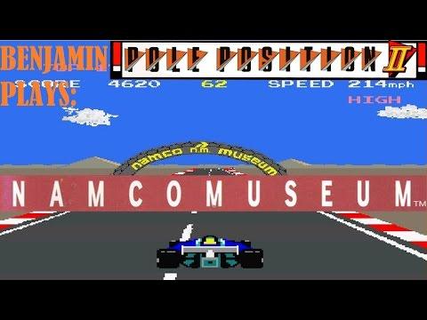Namco Museum Pole Position - смотреть онлайн на Hah Life